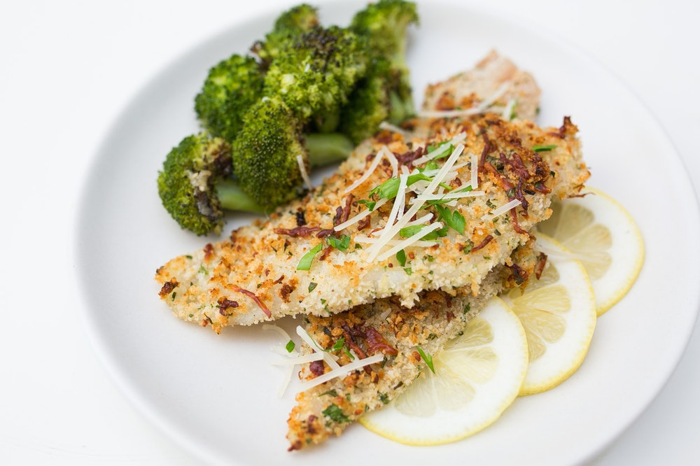 Parmesan & Panko Crusted Dover Sole