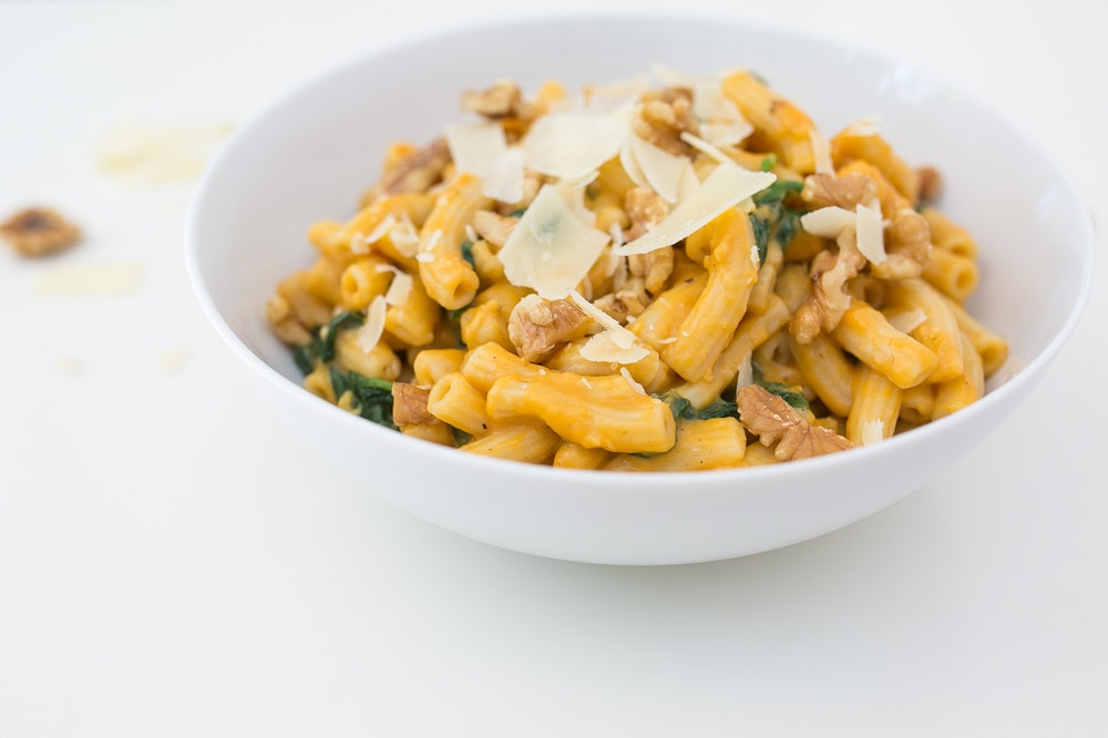Penne with Creamy Sweet Potato Sauce