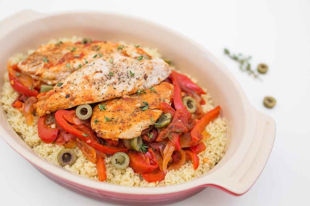 Mediterranean Chicken Saute