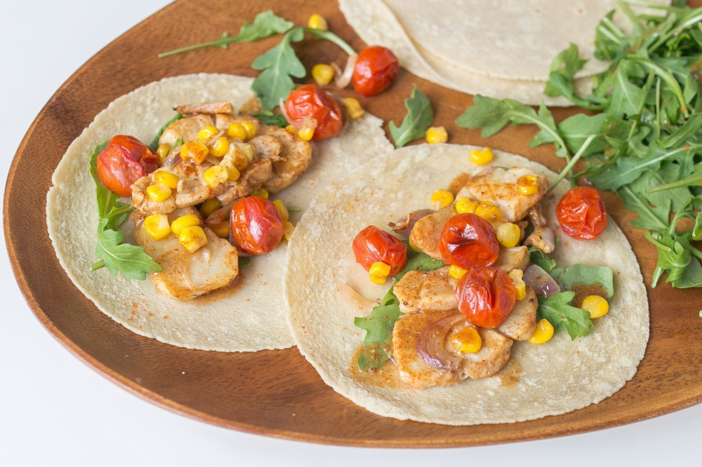 Spice-Roasted Fish Tacos