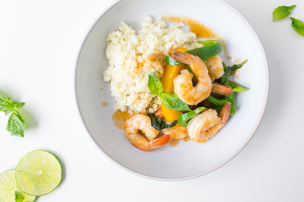 Red Curry Shrimp Stir-Fry