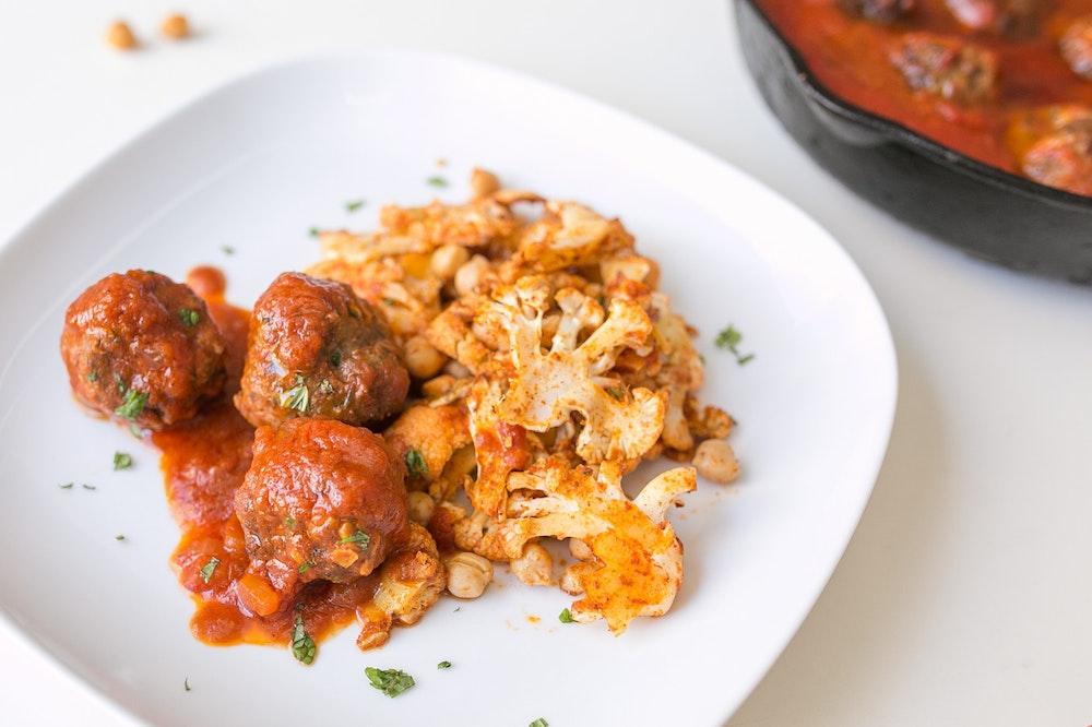 Spanish Lamb Meatballs