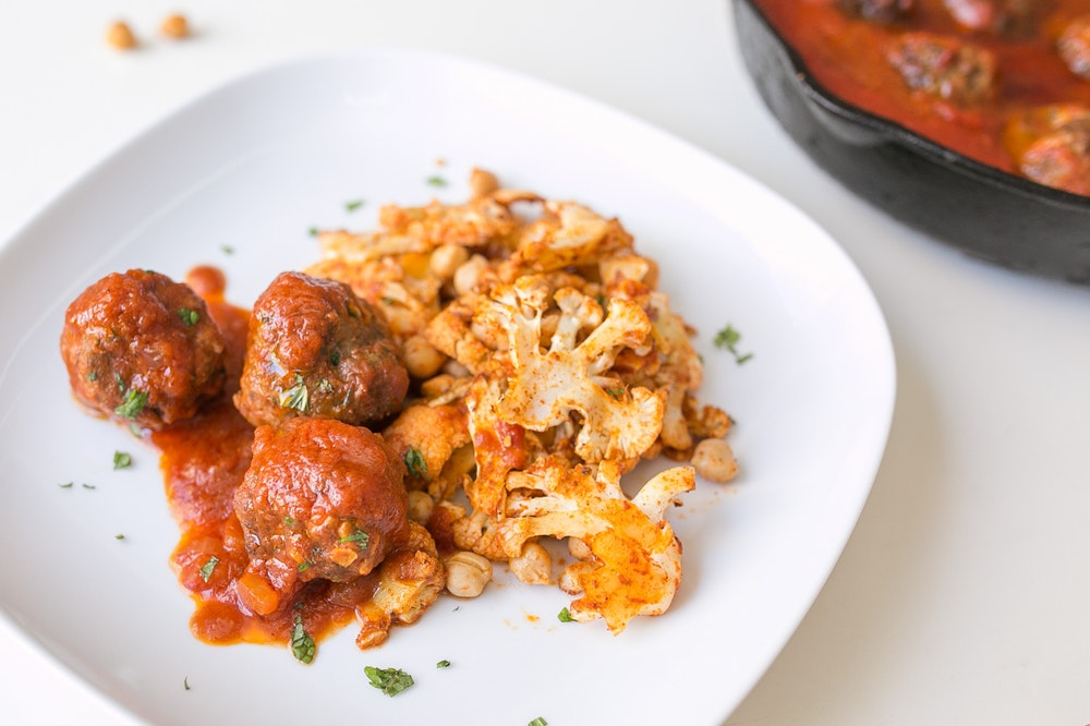 Spanish Lamb Meatballs