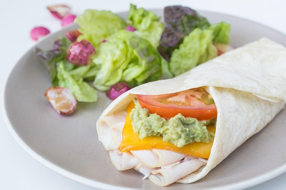 Turkey and Avocado Wraps