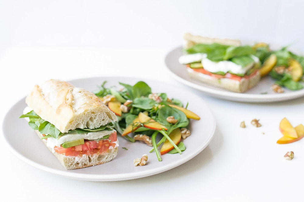 Avocado Caprese Sandwich