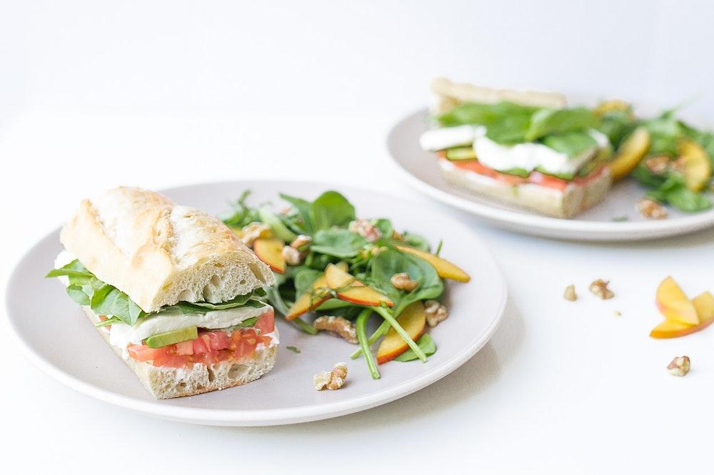 Avocado Caprese Sandwich