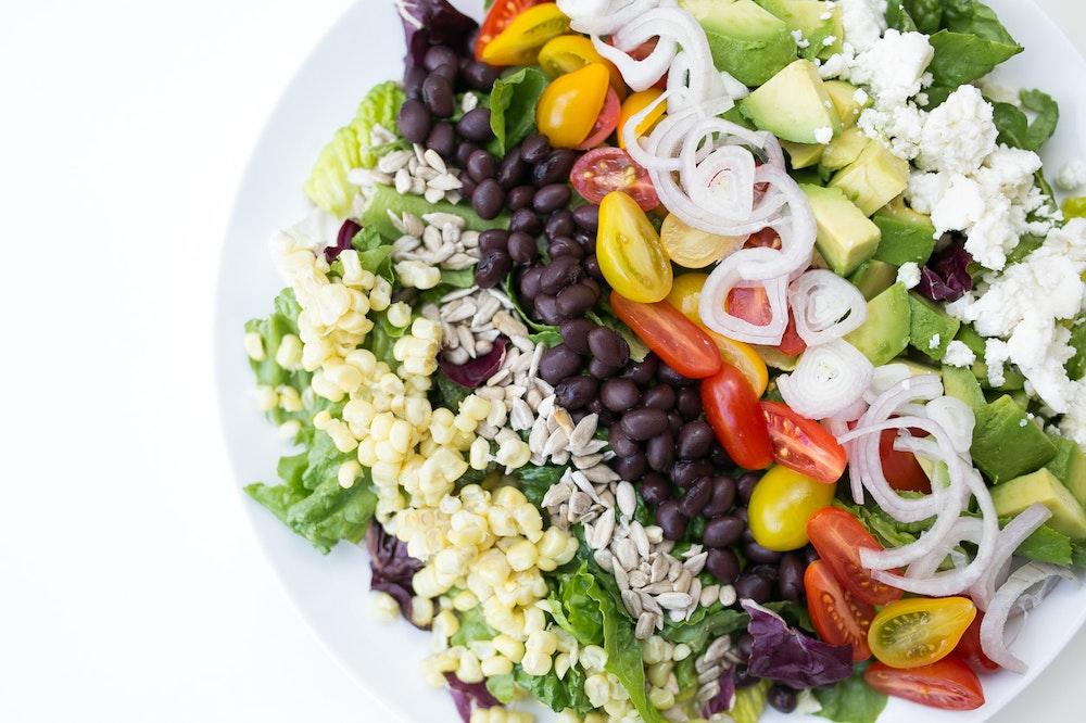 Vegetarian Mexican Chopped Salad