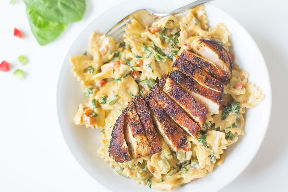 Creamy Cajun Pasta with Chicken