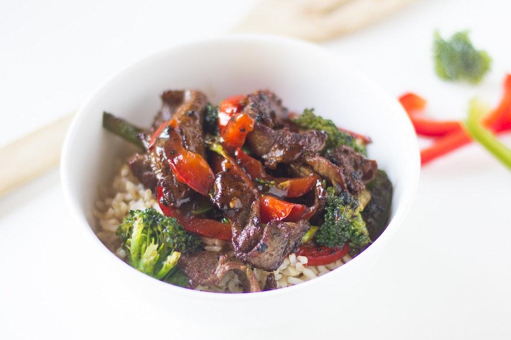 Black Pepper Beef Stir-Fry