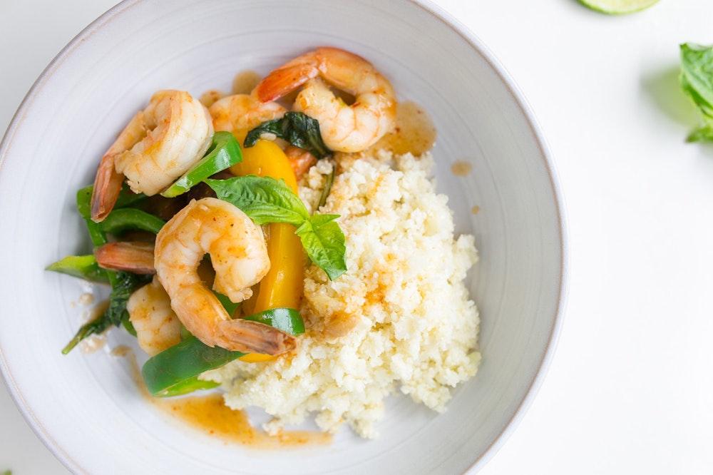 Red Curry Shrimp Stir-Fry
