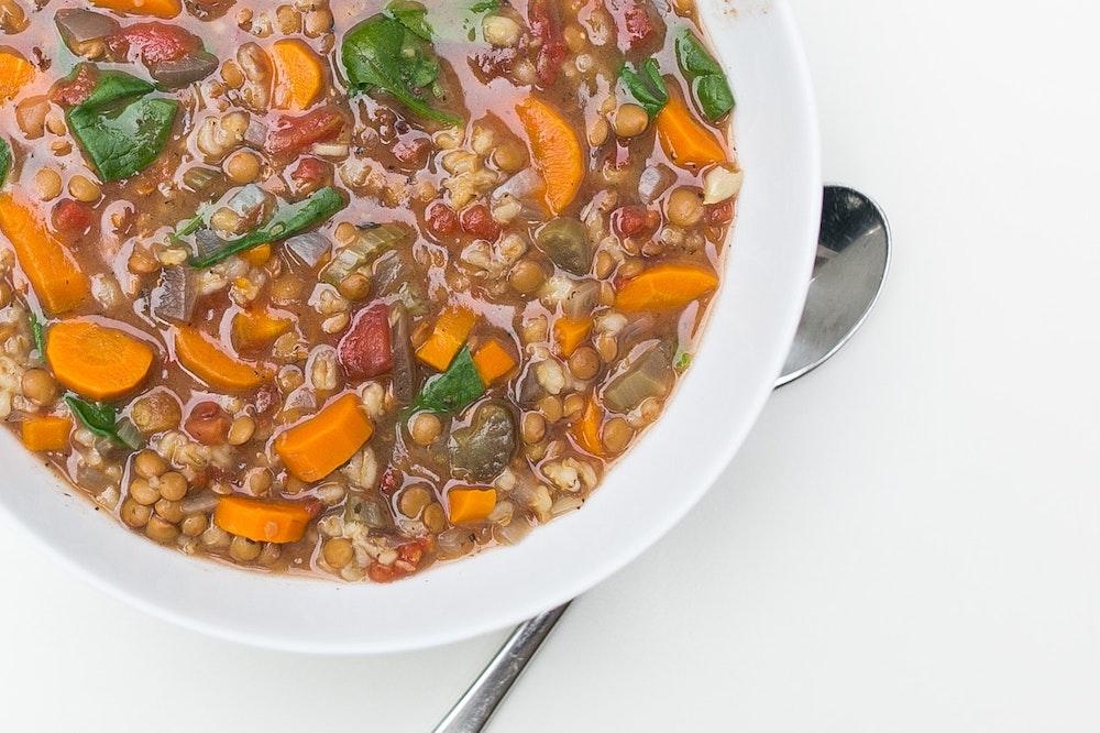 Lentil & Barley Soup