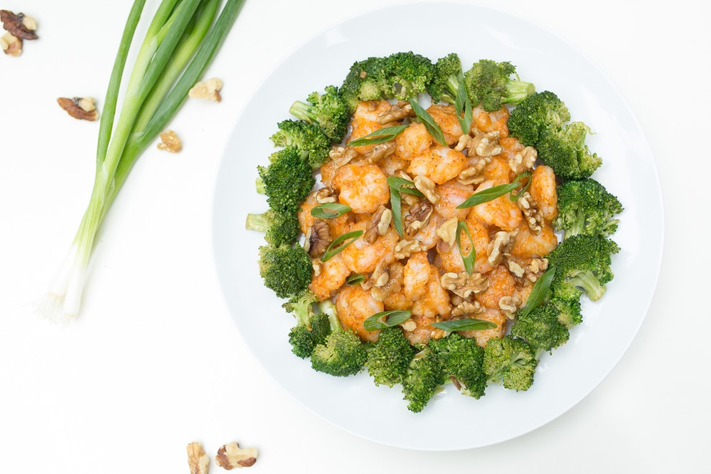 Sriracha-Honey Shrimp
