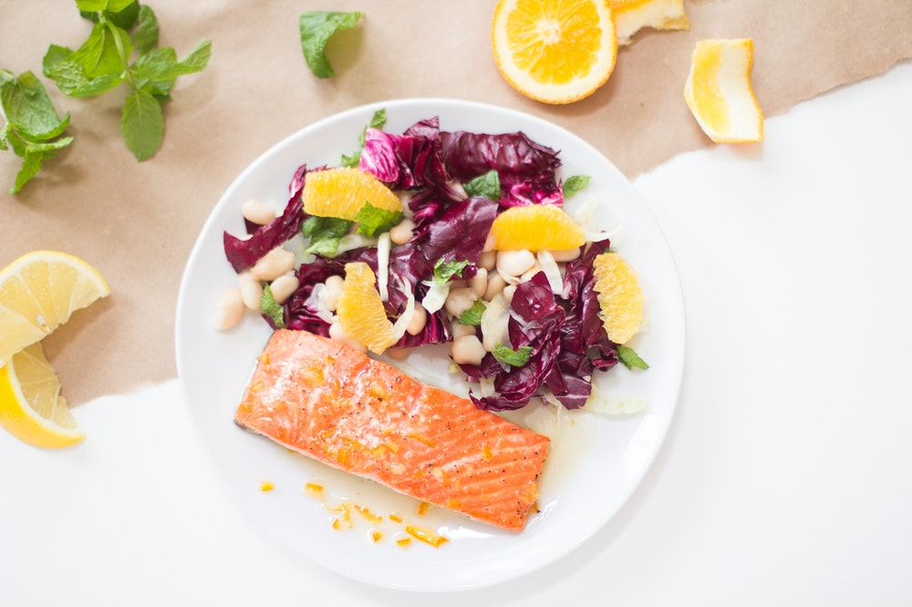 Honey Citrus Salmon