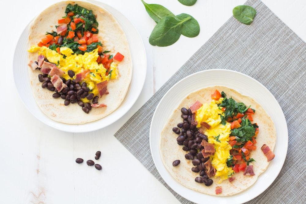 Southwestern Breakfast Wraps
