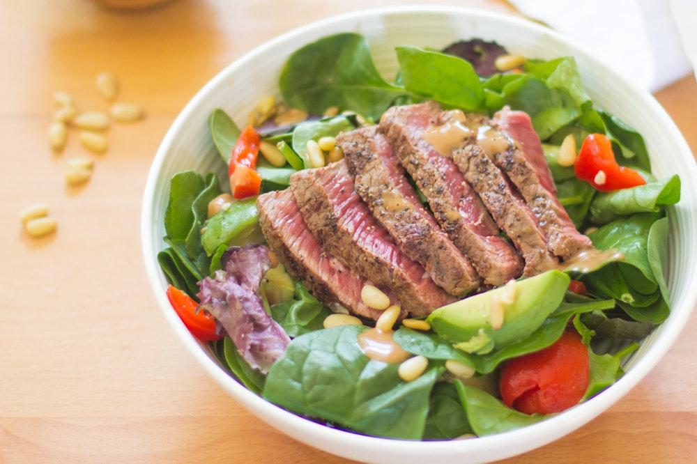 Balsamic Marinated Steak Salad