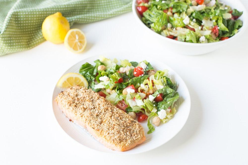 Dukkah-Spice Salmon