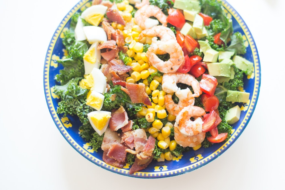 Shrimp Cobb Salad