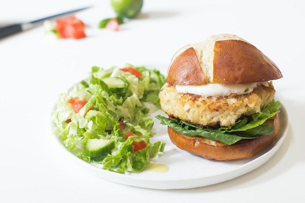 Crab Cake Sandwiches