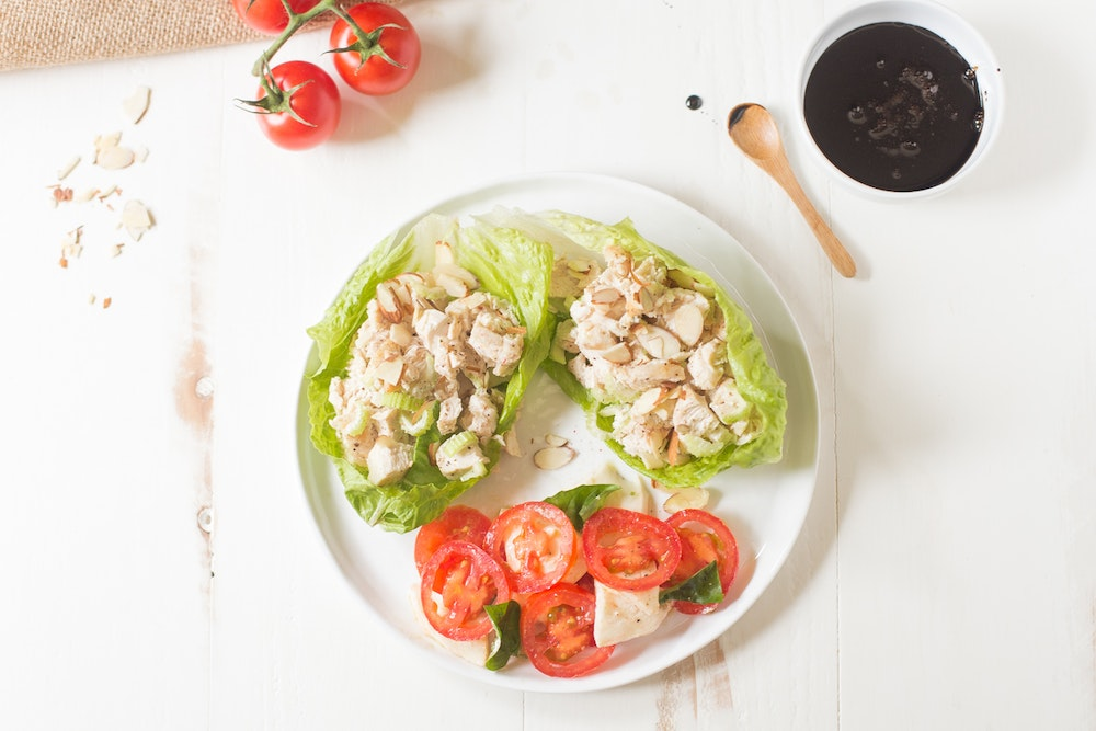 Avocado and White Bean Lettuce Cups