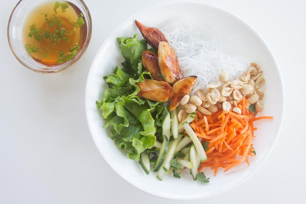 Vietnamese Mushroom and Tofu Salad