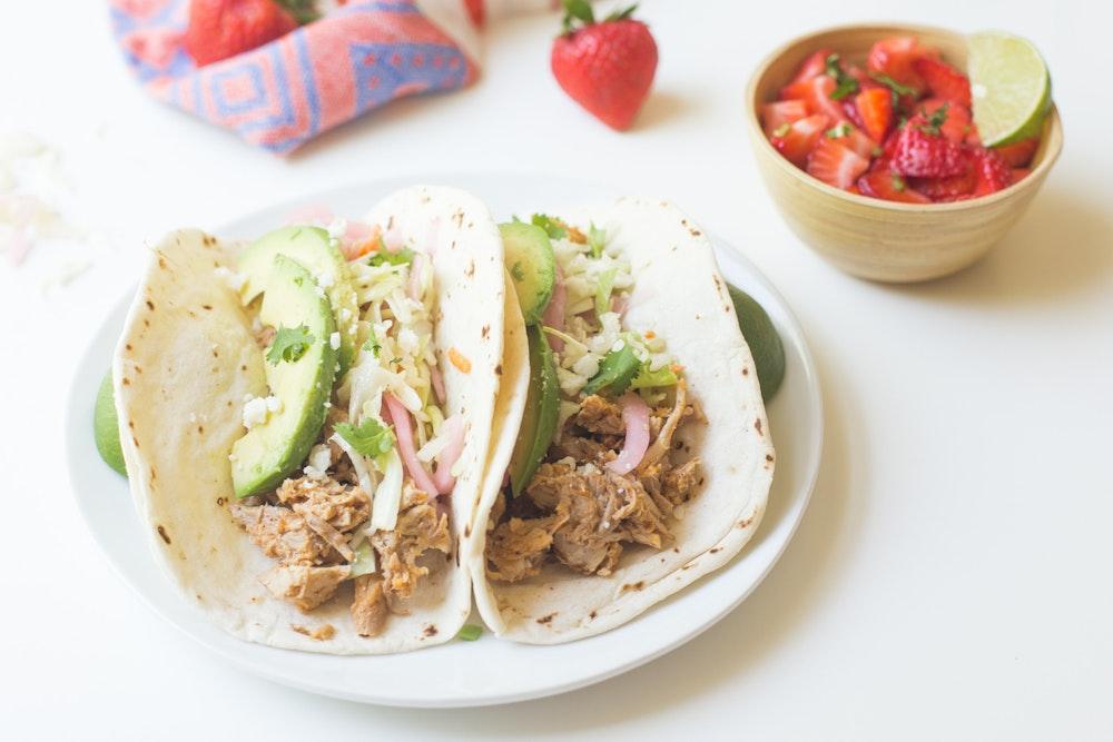 [Leftover] Pulled Pork Tacos