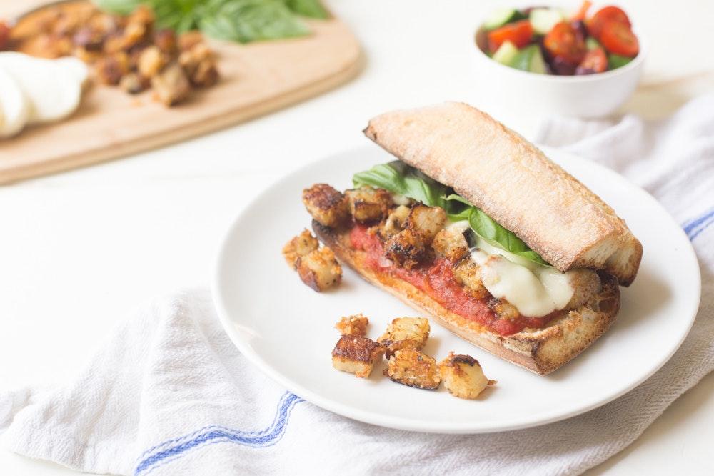 Eggplant Parm Sandwiches