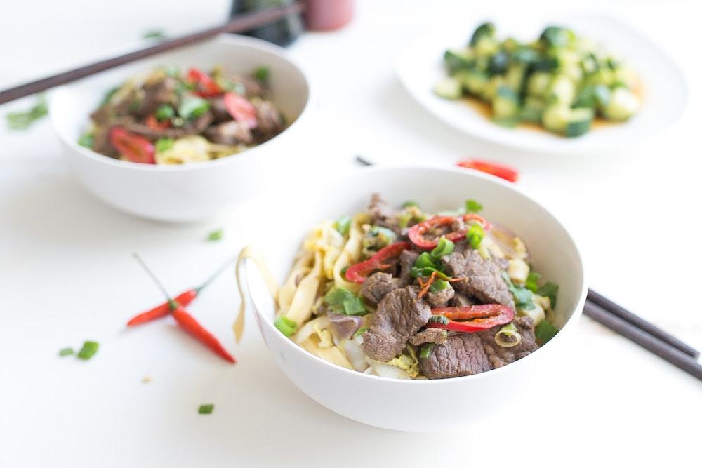 Cumin Beef Noodles
