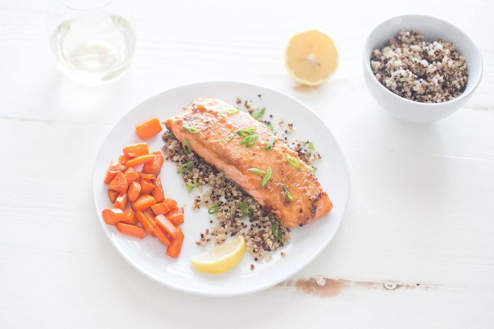 Miso-Butter Salmon