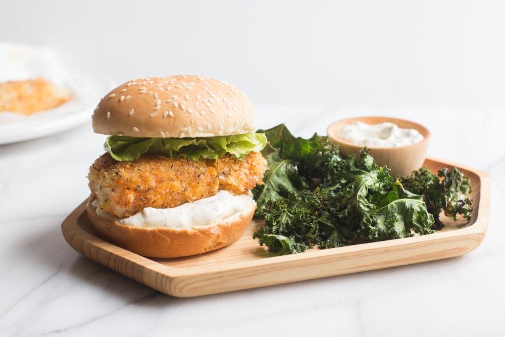 Panko-Crusted Fish Sandwiches