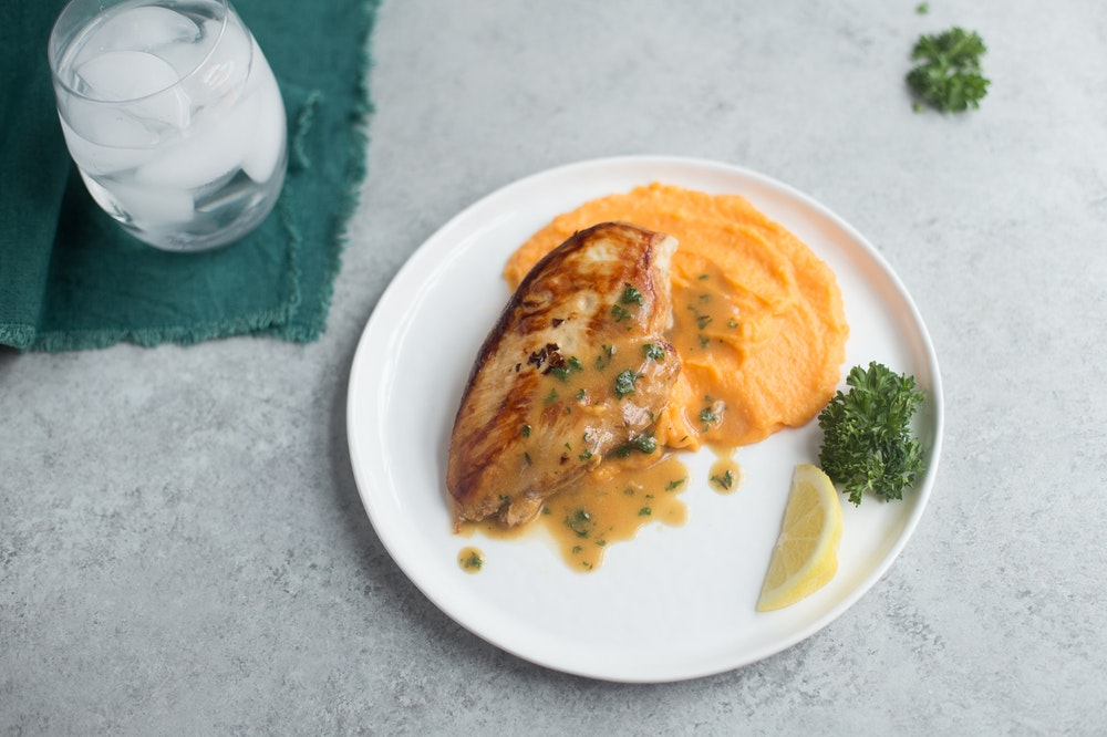 Chicken Breasts with Pan Sauce