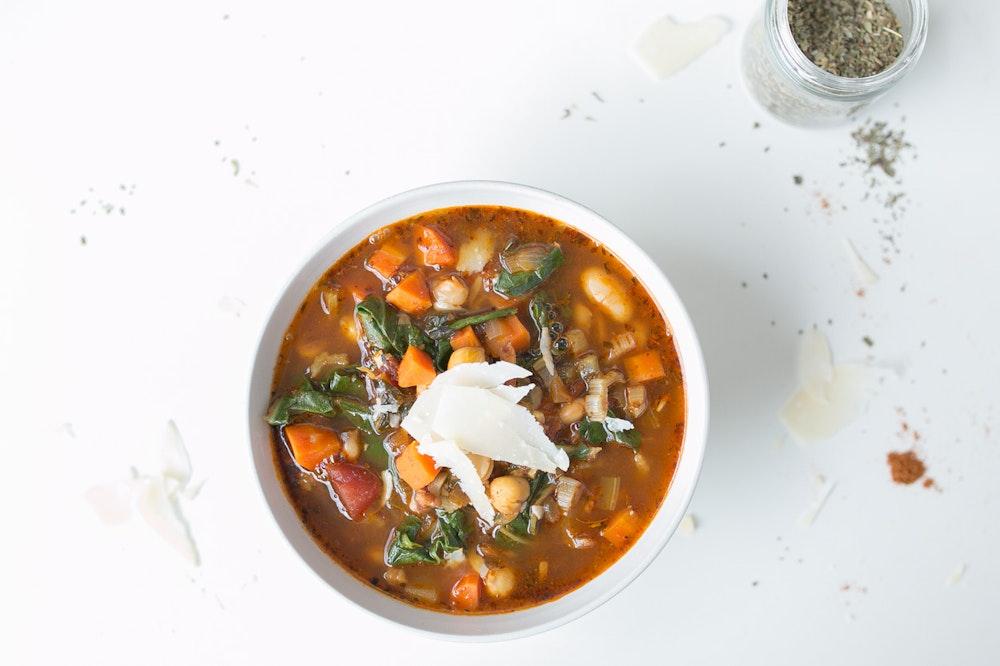 Vegetarian Italian Ribollita Soup