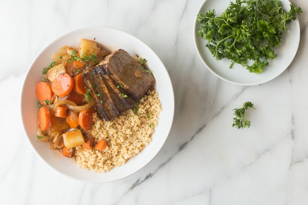 Slow-Cooker Braised Brisket