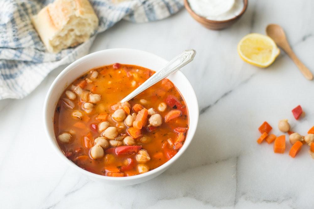 Moroccan Bean Soup