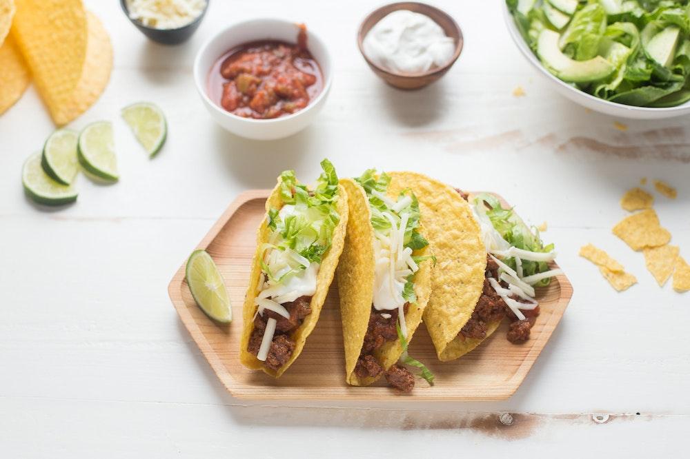 "Lettuce Wrap ""Tacos"""