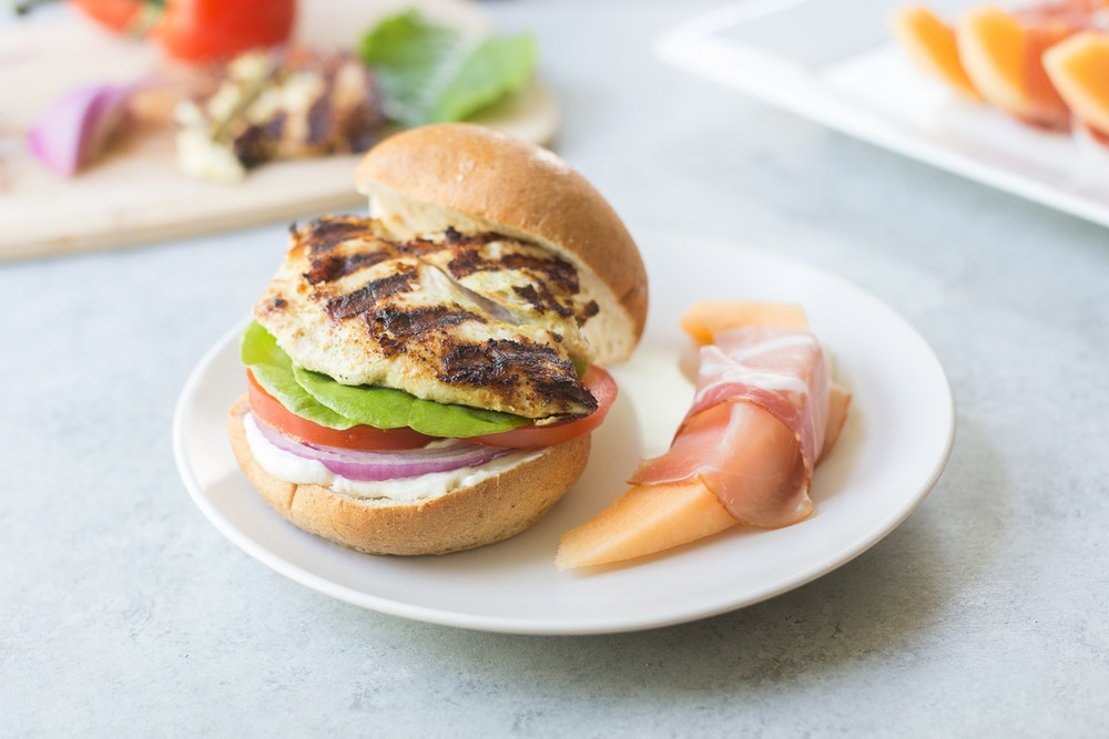 Marinated Chicken Sandwiches