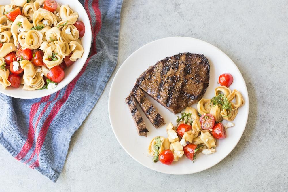 Grilled Balsamic Flank Steak