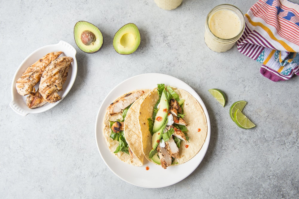 Grilled Tofu and Corn Tacos