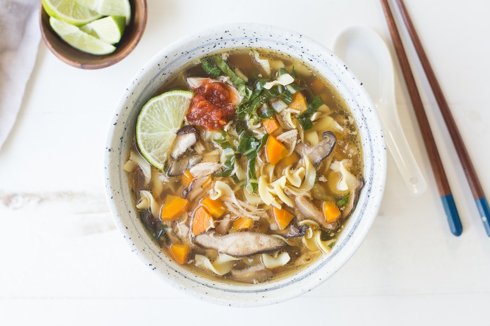 Slow-Cooker Asian Chicken Noodle Soup