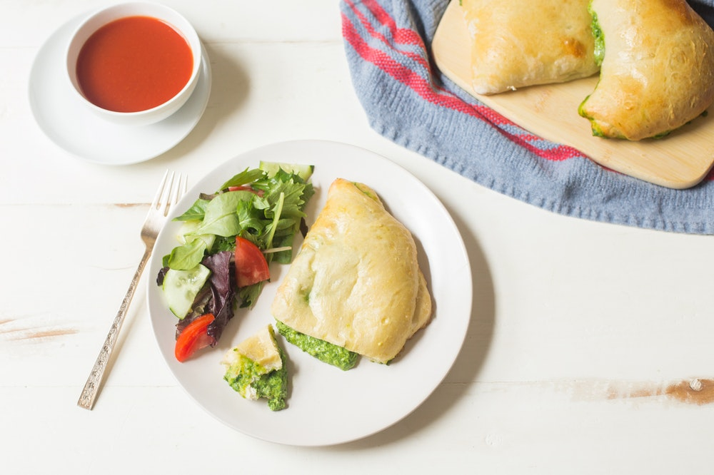 Spinach Calzones