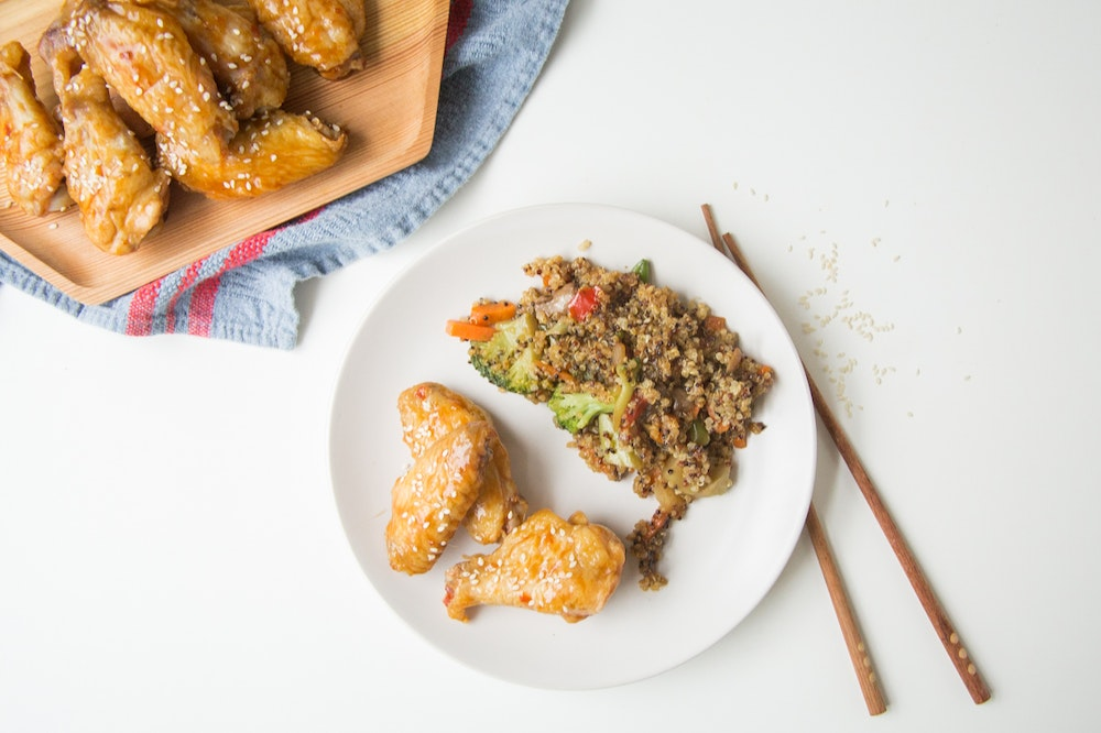 Spicy Miso Chicken Wings and Drumettes