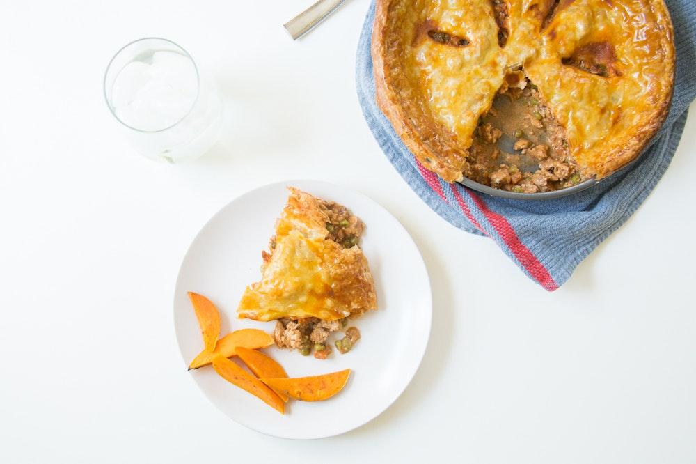 Curried Turkey Pot Pie